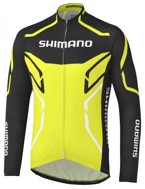 Shimano Thermal Print long sleeve Jersey L